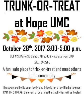 Trunk-or-Treat at Hope