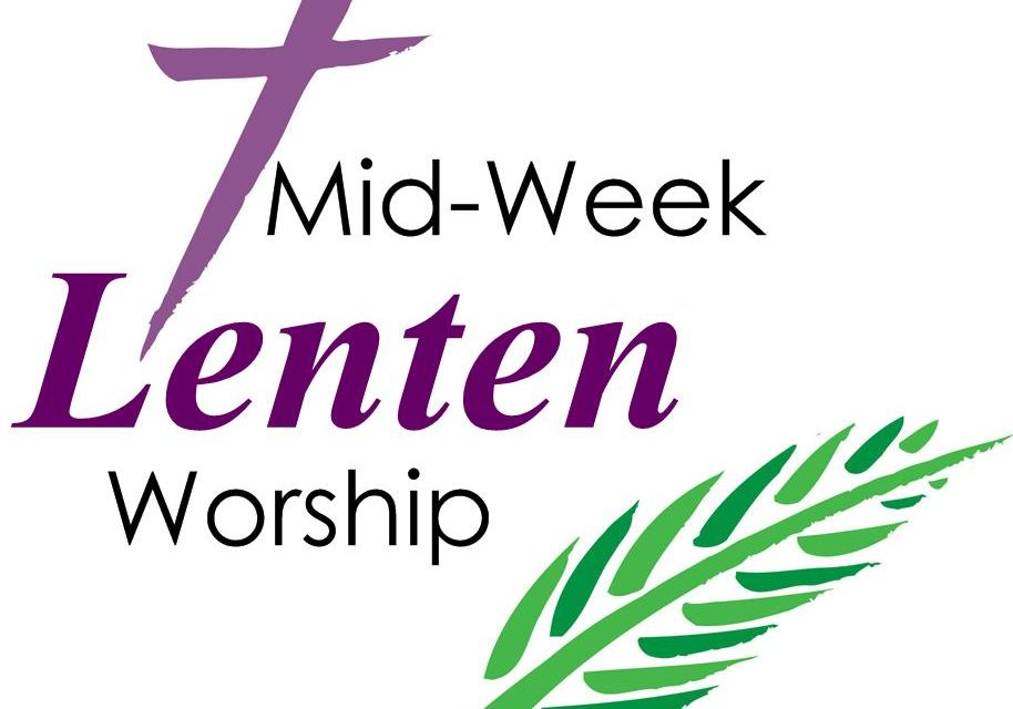Lenten Services and Soup, Wednesdays